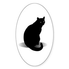 Basic Black Cat Decal