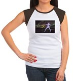 Dance Along/Light of Day Women's Cap Sleeve Tee