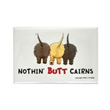 Nothin' Butt Cairns Rectangle Magnet (10 pack)