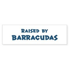 Raised by Barracudas Bumper Sticker (50 pk)