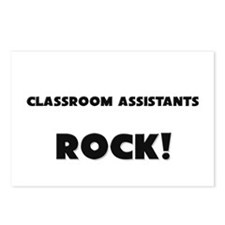 Classroom Assistants ROCK Postcards (Package of 8)