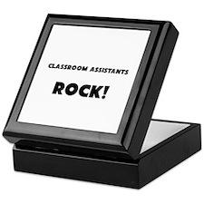 Classroom Assistants ROCK Keepsake Box