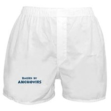 Raised by Anchovies Boxer Shorts