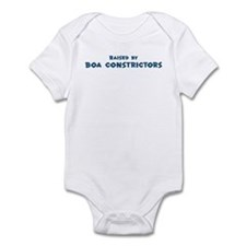 Raised by Boa constrictors Infant Bodysuit