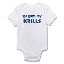 Raised by Krills Infant Bodysuit