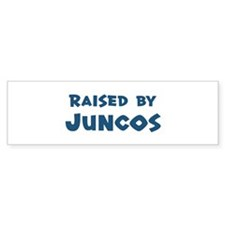 Raised by Juncos Bumper Bumper Sticker
