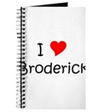 Funny Broderick Journal