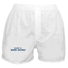 Raised by Horn Sharks Boxer Shorts