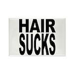 Hair Sucks Rectangle Magnet (100 pack)