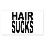 Hair Sucks Rectangle Sticker