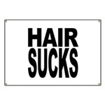 Hair Sucks Banner