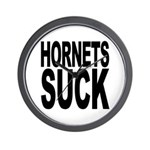 Hornets Suck Wall Clock