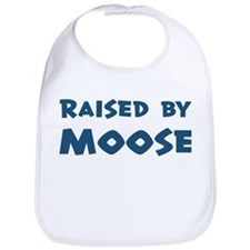 Raised by Moose Bib