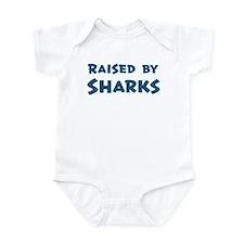 Raised by Sharks Infant Bodysuit