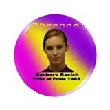 "Barbara Racich 3.5"" Button"