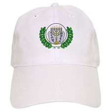 Menorah & Tablets Baseball Cap