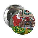 "Santa's Helper Scottish Fold 2.25"" Button (100 pac"