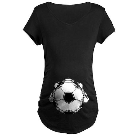 Soccer Baby Maternity Shirt