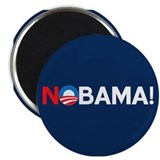 """NOBAMA!"" 2.25"" Magnet (10 pack)"