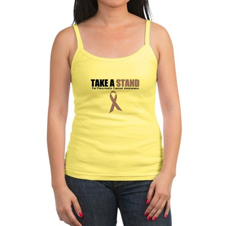 Pancreatic Cancer Stand Jr. Spaghetti Tank