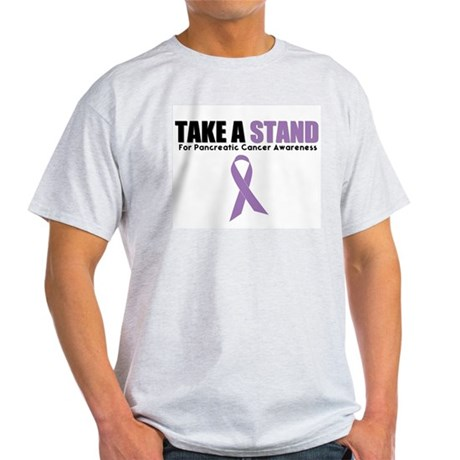 Pancreatic Cancer Stand Light T-Shirt