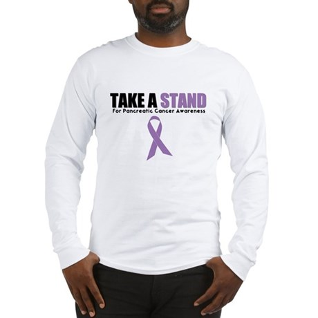 Pancreatic Cancer Stand Long Sleeve T-Shirt