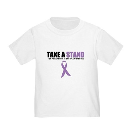 Pancreatic Cancer Stand Toddler T-Shirt