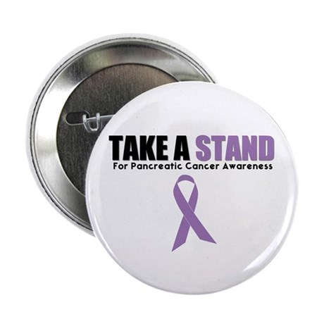 "Pancreatic Cancer Stand 2.25"" Button (10 pack)"