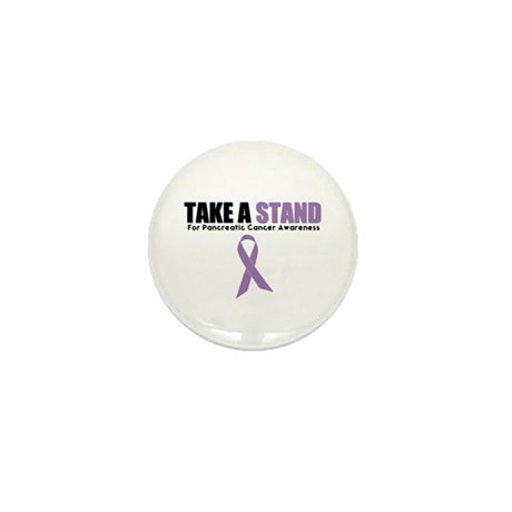 Pancreatic Cancer Stand Mini Button