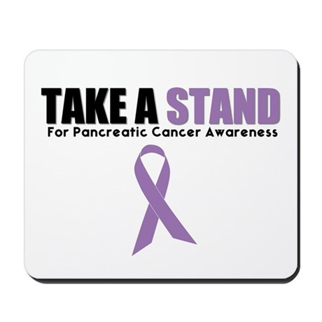 Pancreatic Cancer Stand Mousepad
