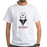 devilment white T-shirt