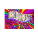 Decolores Rectangle Magnet (10 pack)