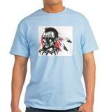 Mohawk Indian Tattoo Art T-Shirt