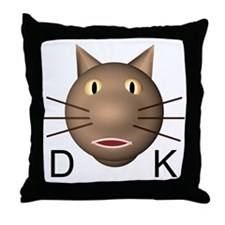 DK Throw Pillow
