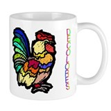Decolores Rooster Small Mugs