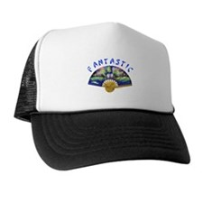 ORIENTAL FAN Trucker Hat