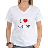 Cute I love (heart) celine Shirt