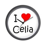 Unique Celia Wall Clock