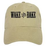 Wake and Bake Baseball Cap