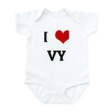 I Love VY Infant Bodysuit