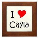 Funny Cayla Framed Tile
