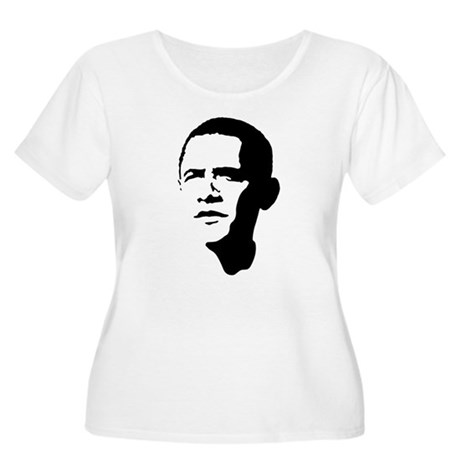 Obama Women's Plus Size Scoop Neck T-Shirt