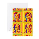 Obama Warhol style Greeting Cards (Pk of 10)