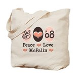 Peace Love McPalin Tote Bag