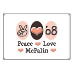 Peace Love McPalin Banner
