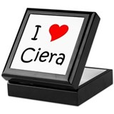 Unique Ciera Keepsake Box