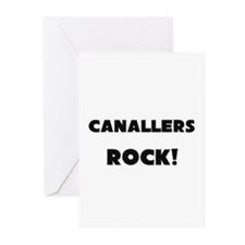 Canallers ROCK Greeting Cards (Pk of 10)