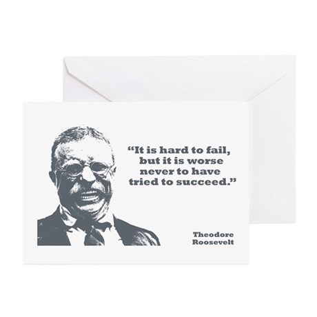 Roosevelt - Failure Greeting Cards (Pk of 10)