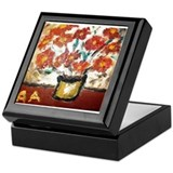 Keepsake Box: Artwork by Anne K Abbott