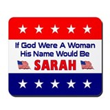 His Name Would Be Sarah Mousepad
